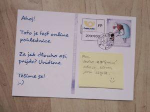 Dárek z cest - pohlednice online