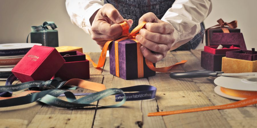 jak originálně zabalit dárek