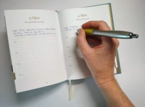 Opravdu výjimeční dárek - deník tam & zpět