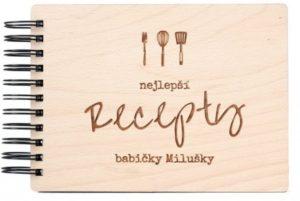 Dejte dceři darem vaše sepsané rodinné recepty.