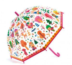 Dárek pro holku - deštník do výbavy.
