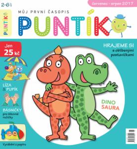 Časopis Puntík pro holky i kluky