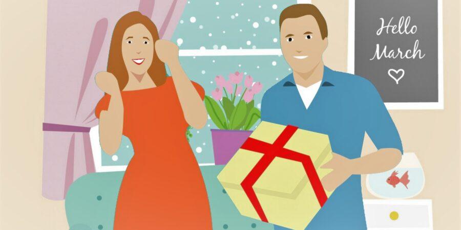 Jaké dárky dostáváte od partnera?