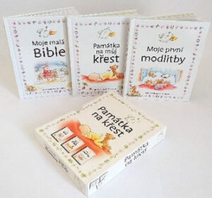 Sada knih ke křtinám