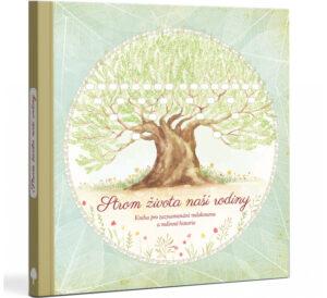 Strom života naší rodiny - ideální dárek ke křtinám