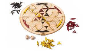 Originální dřevěná desková hra - bezva dárek pro děti i dospělé