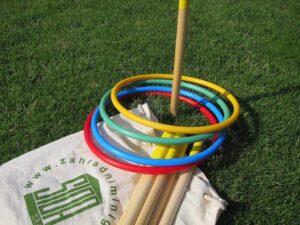 Originální hra na ven - hookbruč - dárek pro děti