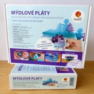 Dárek, který se může stát dárkem - mýdlová sada na výrobu mýdel pro děti