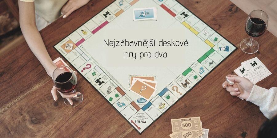 Deskové hry pro dva - skvělý dárek pro pár