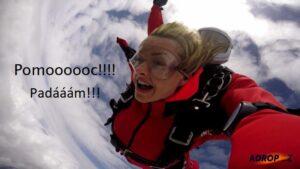 Adrenalinový zážitek není pro každého!