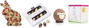 Luxusní čokoládové velikonoční dárky