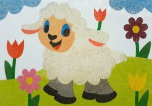 Velikonoční pískování jako dárek pro koledníky