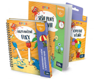 Aktivity od Kvída - ideální dárek pro předškoláky