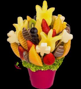 Originální dárky ke dni matek - ovocné kytice