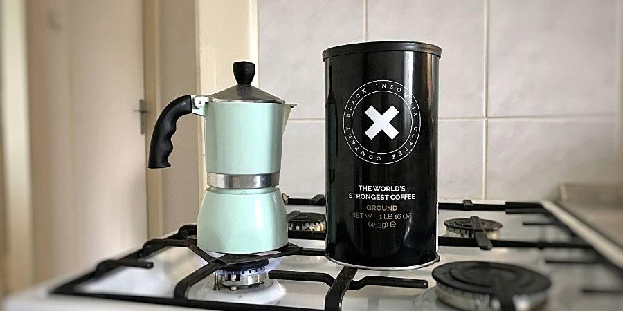 Nejsilnější kafe na světě? Přece Black Insomnia.